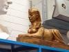 Styrofoam sphinx