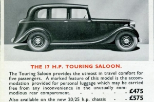 Sales brochure from 1935