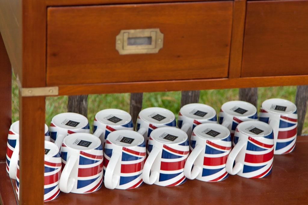 Alle Tassen im Schrank