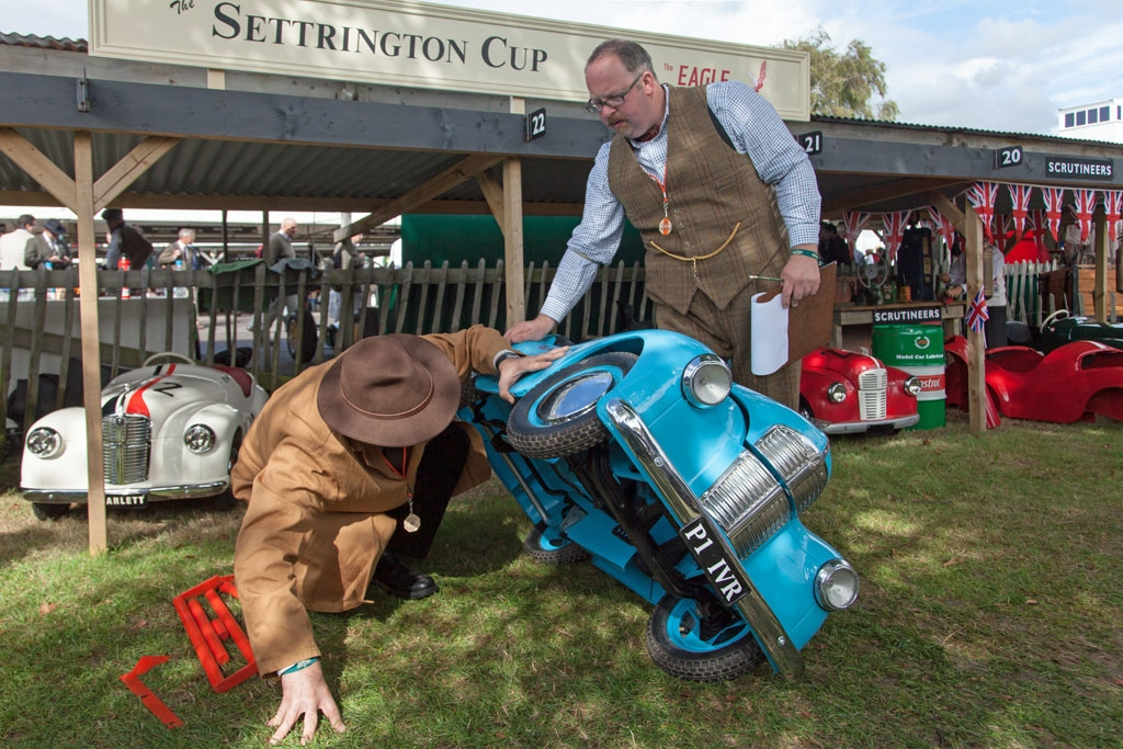 Scrutineers bein Settrington Cup
