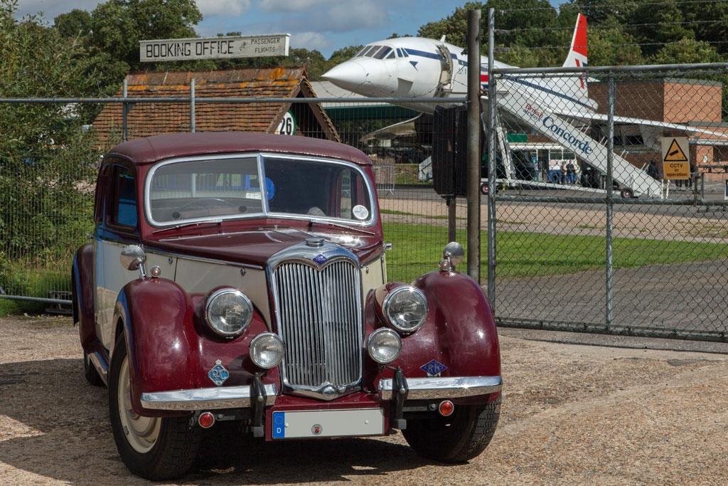 Riley und Concorde