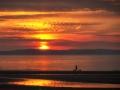 Sonnenuntergang in Ayr