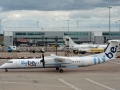 FlyBE Dash8Q400 in Birmingham