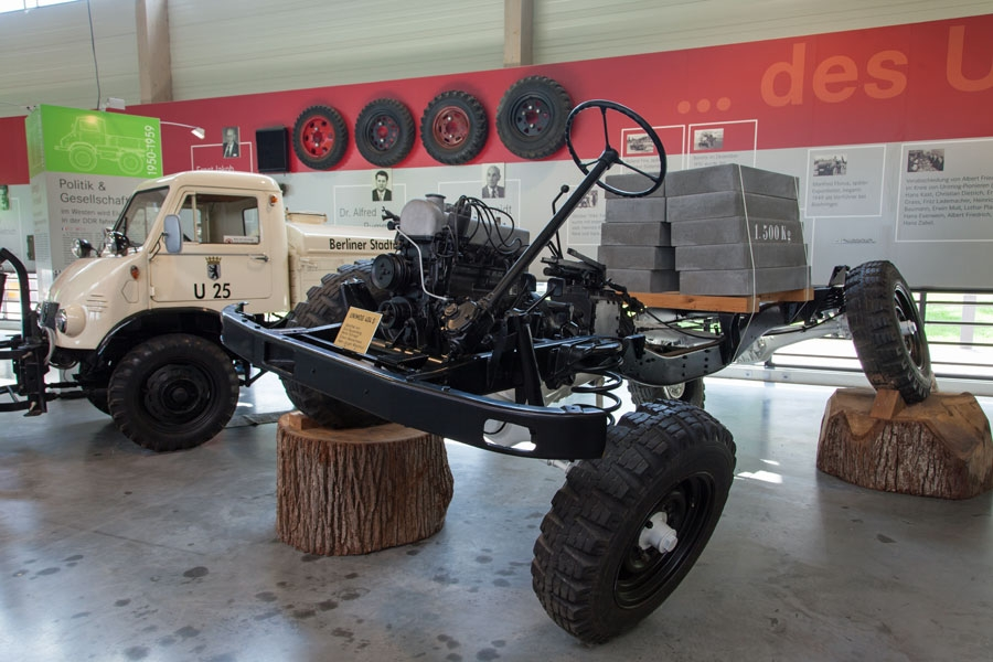 Unimog-Chassis