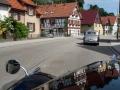 Ortsdurchfahrt im Schwarzwald.