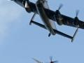Avro Lancaster und Spitfire